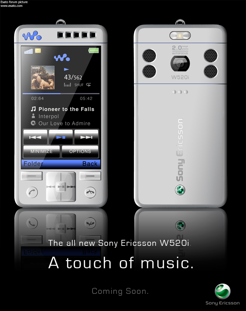 Concepts And Photoshops For Sony Ericsson Phones 2008 Edition Touchscreen Xperia Page 33