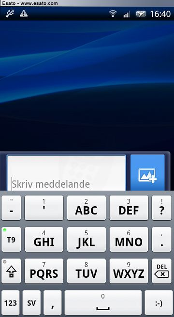 T9 keyboard for Xperia X8