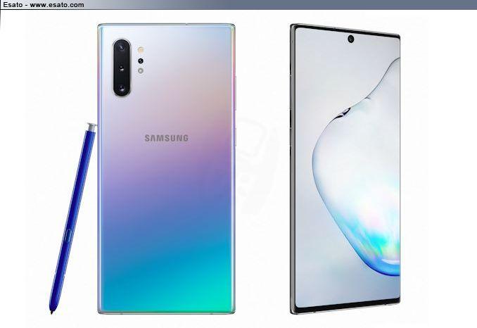 Samsung Galaxy Note 10+ Announced