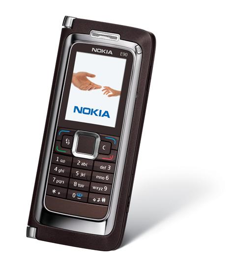Nokia's E90 communicator Launched