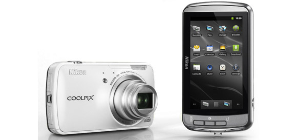 Nikon Coolpix S800c Android compact camera