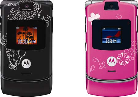 Motorola Creates Laseretched Envy with Miami Ink Collection