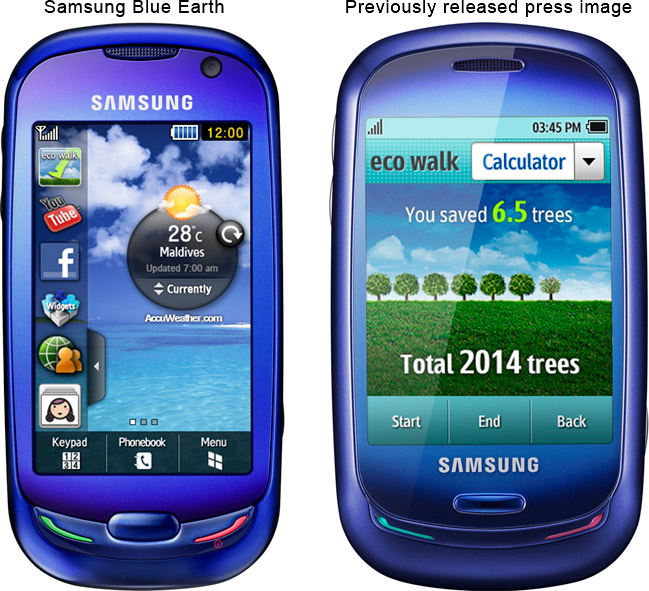 Samsung Blue Earth