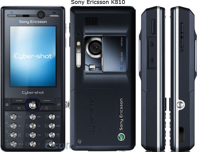 Sony Ericsson Announces K550 And K810 Cyber Shot Models