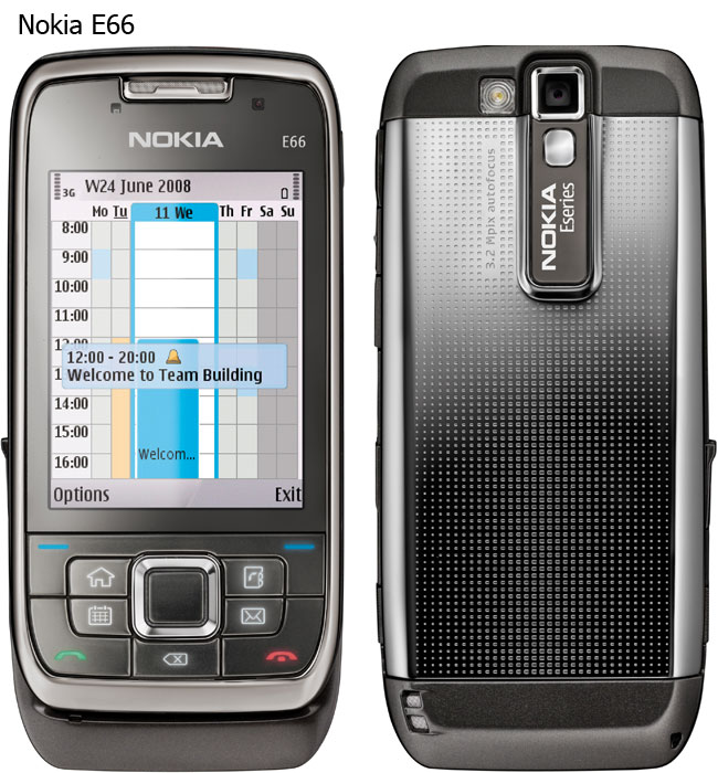 Nokia expand the E-series with Nokia E66 and E71 - Esato