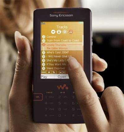 """Sony Ericsson to Intoduce """"Music Kiosks"""" for Mobile Phones ..."""