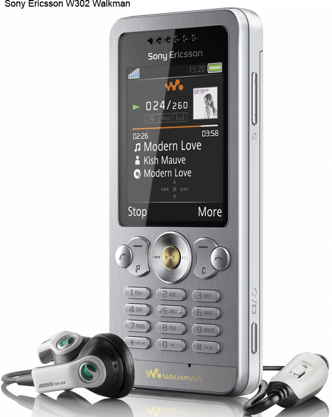 Sony Ericsson W902, W595 And W302: Three new Walkman  Phones