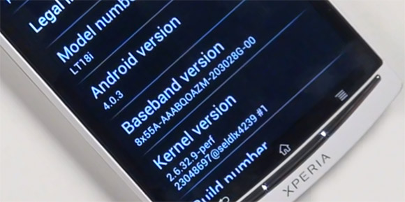 Android 4.0 Ice Cream Sandwich beta available for Xperia handsets