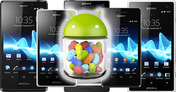 Android Jelly Bean for Xperia handsets