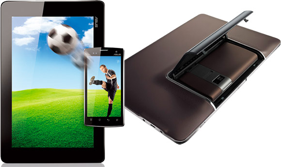 Asus Padfone smartphone tablet