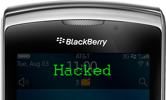 BlackBerry Torch 9800 hacked