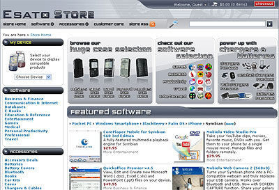 Esato software store