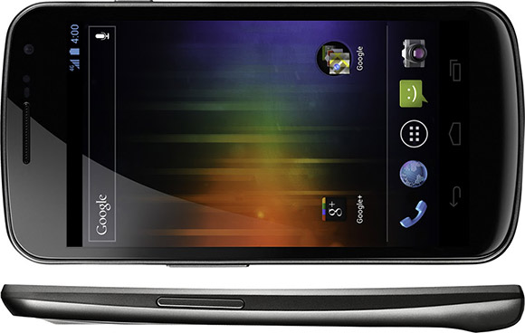 Samsung Galaxy Nexus Google phone