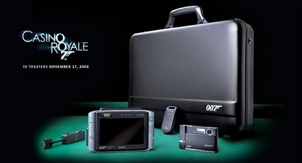 James Bond Gadgets from Sony and Sony Ericsson