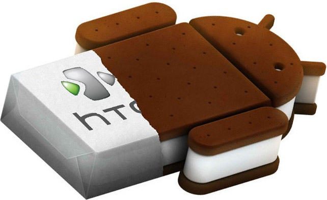 HTC Ice Cream Sandwich update for existing handsets