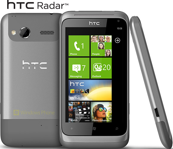 HTC introduces two new Windows Phones with HTC Titan and ...
