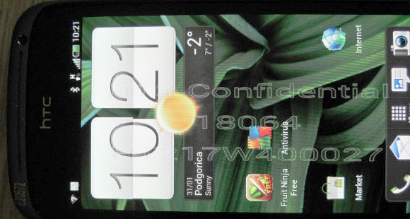 More leaked photos of the HTC Ville 4.3 inch Android ...