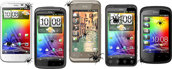 HTC Admits Wi-Fi bug on their Android smartphones