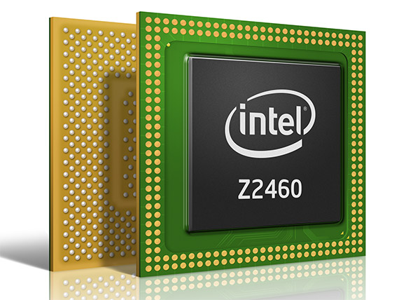 Intel Atom Z2460 processor for smartphones