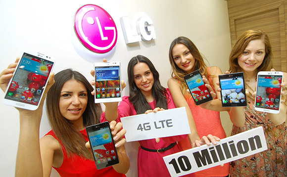 LG has sold 10 million LTE smartphones