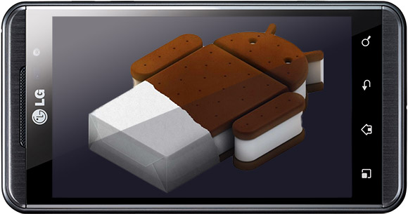 Ice Cream Sandwich available for LG smartphones in April