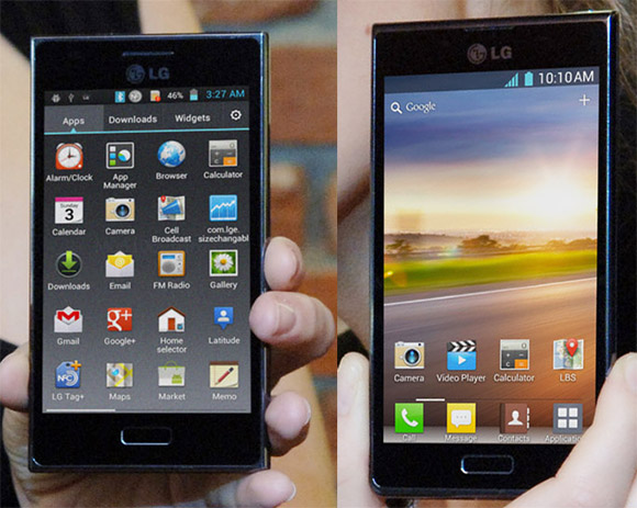 LG L5 and L7