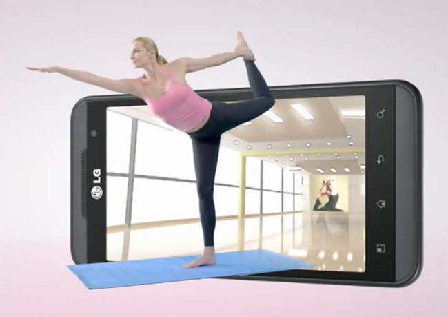 LG Optimus 3D commercial video