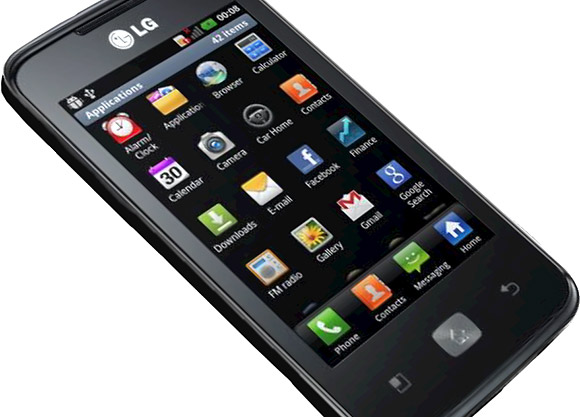 LG Optimus Hub E510 announced
