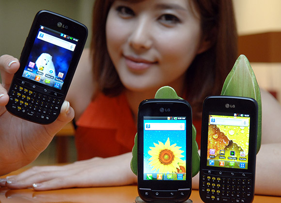 LG Optimus Pro and Optimus Net