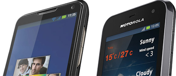 Motorola Defy Mini and Motoluxe announced