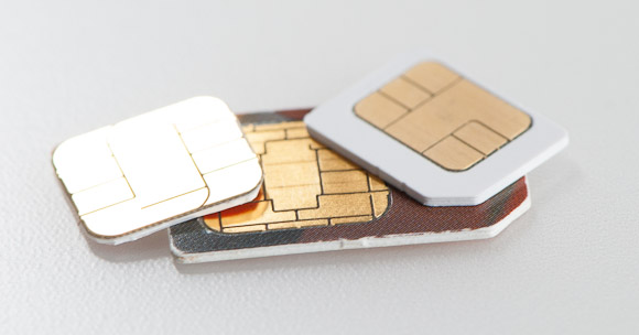 Nano-SIM, Micro-SIM and Normal SIM card