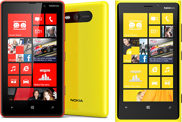 Nokia Lumia 920 and Lumia 820 announced