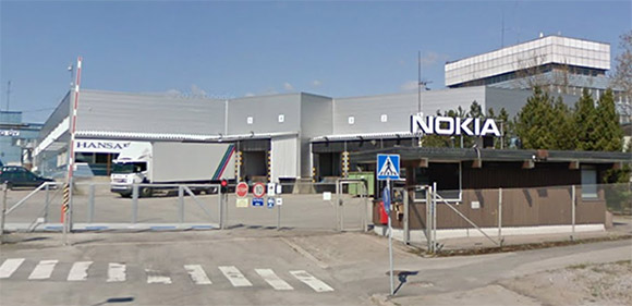 Nokia Salo factory shutdown