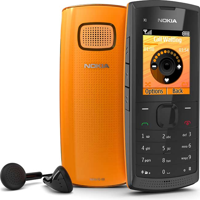 Nokia X1-00 mobile phone at only 34 Euro