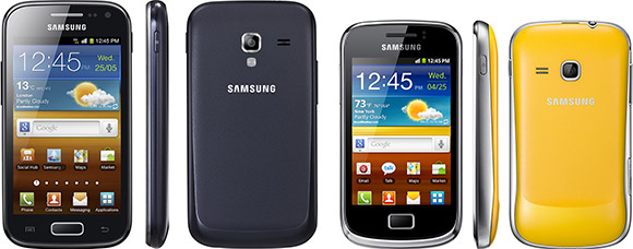 Samsung Galaxy Ace 2 and Galaxy Mini 2 Android smartphones announced