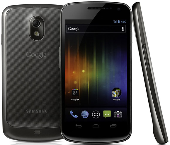 Samsung Galaxy Nexus first Ice Cream Sandwich smartphone