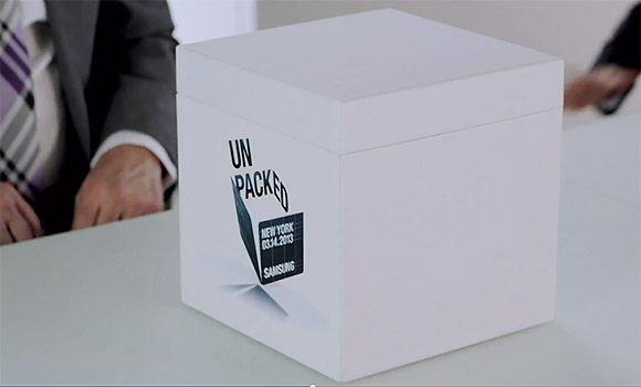 Samsung Galaxy S IV unpacked video
