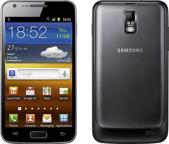 Samsung Galaxy S II LTE announced