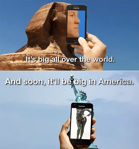 Samsung Galaxy S II video teaser for the US