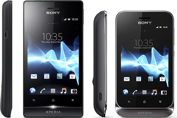 Sony Xperia Tipo and Xperia Miro announced