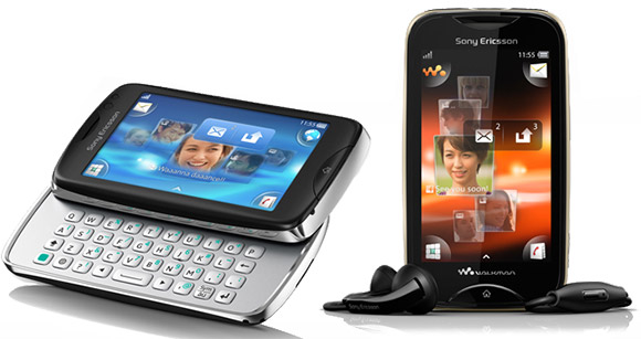 Sony Ericsson announces two feature phones