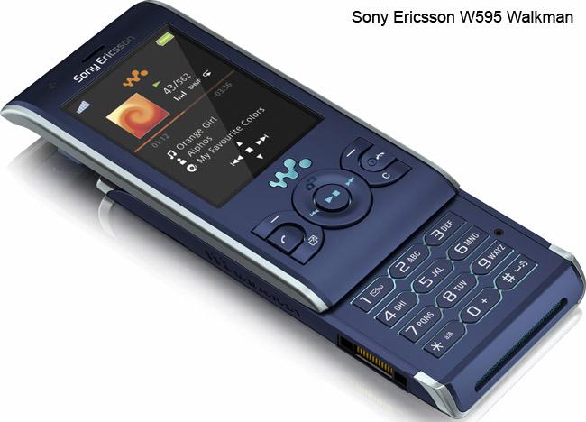 Sony Ericsson W595 Walkman. Sony Ericsson W302