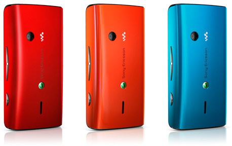 Sony Ericsson W8 Walkman colours