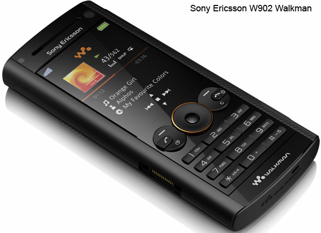 sony ericsson walkman models
