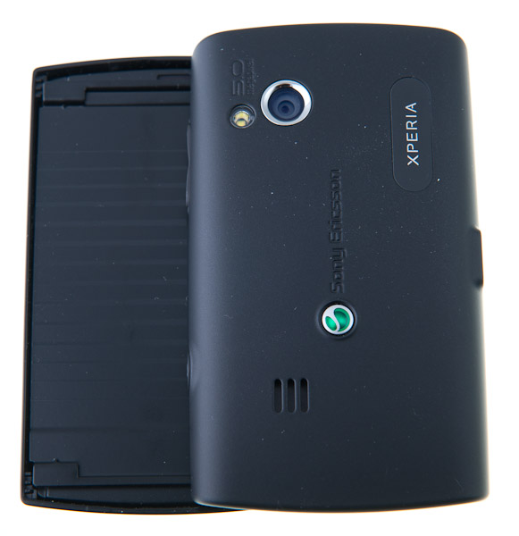 Sony Ericsson Xperia X10 Mini Pro backside