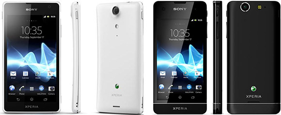 Sony Xperia GX and SX announced