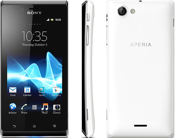 Sony Xperia J announced