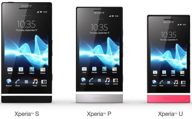 Sony Introduces The Xperia P and U Xperia