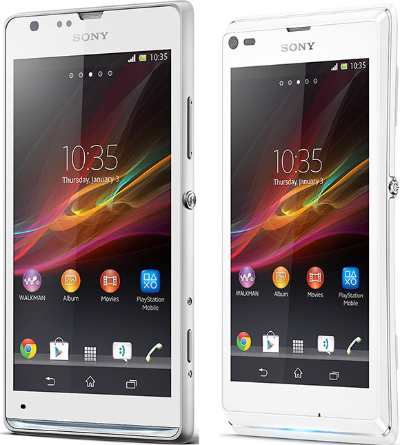 Sony Xperia SP and Xperia L announced