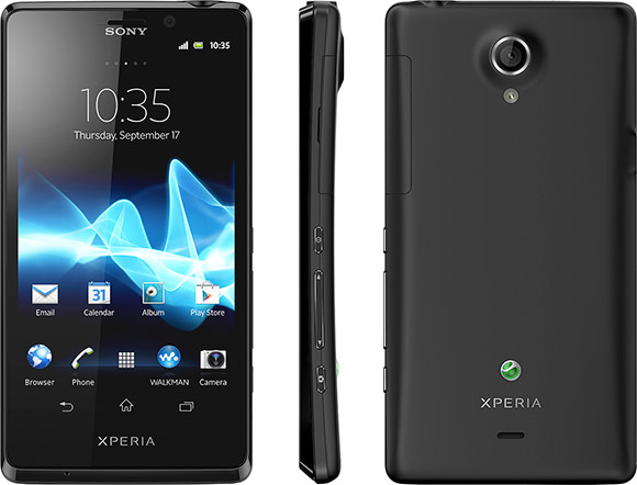 Sony Xperia T announced